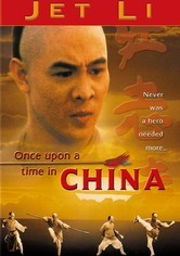 Rent Once Upon a Time in China on DVD