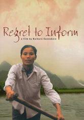 Rent Regret to Inform on DVD