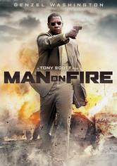 Rent Man on Fire on DVD