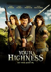 Rent Your Highness on DVD