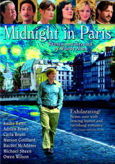 Rent Midnight in Paris on DVD