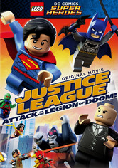 Rent Justice League: Attack of Legion of Doom on DVD