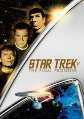 Rent Star Trek V: The Final Frontier on DVD