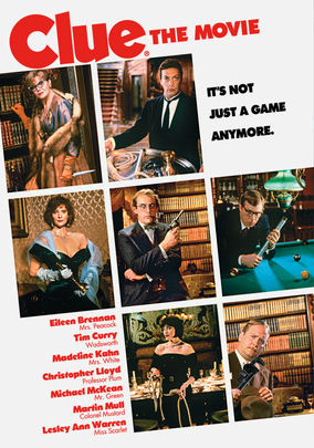 Rent Clue on DVD