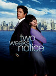 Two Weeks' Notice (2002) Box Art