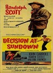 Decision at Sundown (1957) box art