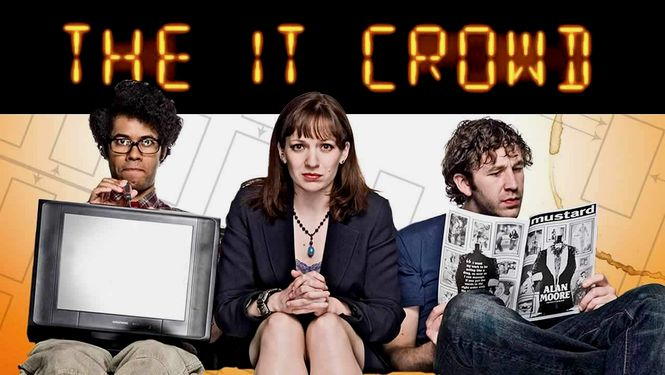 Rent The IT Crowd on DVD